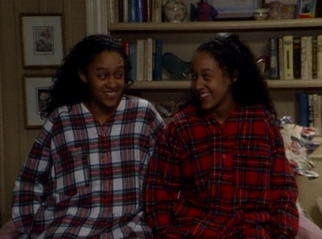 Tia and Tamera Mowry star in the hilarious scripted comedy, Sister Sister.