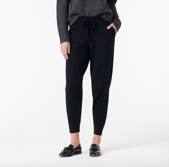 Jogger Pant in cotton-cashmere