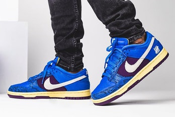 """Undefeated x Nike """"Inside Out"""" Dunk Low"""