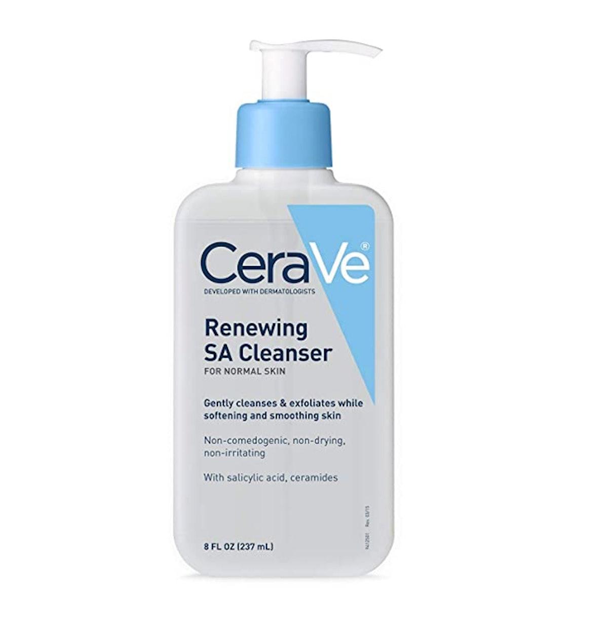 CeraVe SA Cleanser Salicylic Acid Face Wash