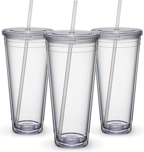 Maars Insulated Travel Tumblers, 32 oz. (Set Of 3)