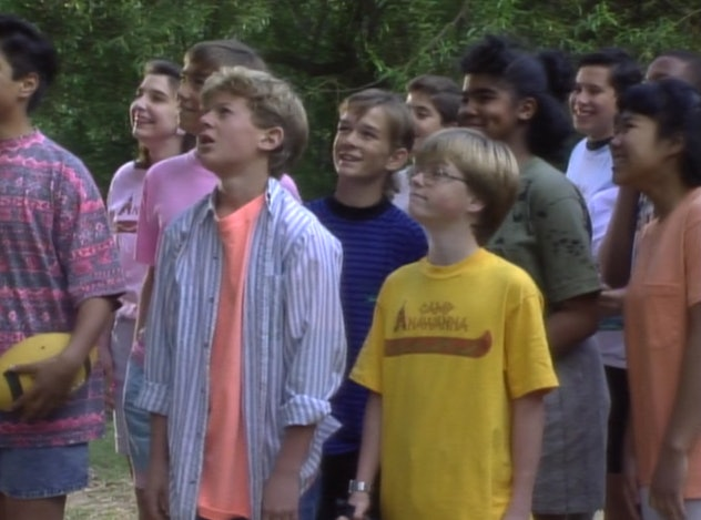 Salute Your Shorts is a comedy series which first aired on Nickelodeon in 1991.