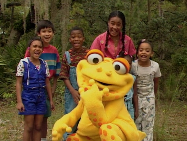 'Gullah Gullah Island' first aired on Nick Jr. in 1994.