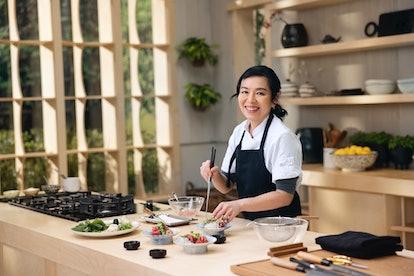 On MasterClass, chef Niki Nakayama's online course covers Japanese cuisine.