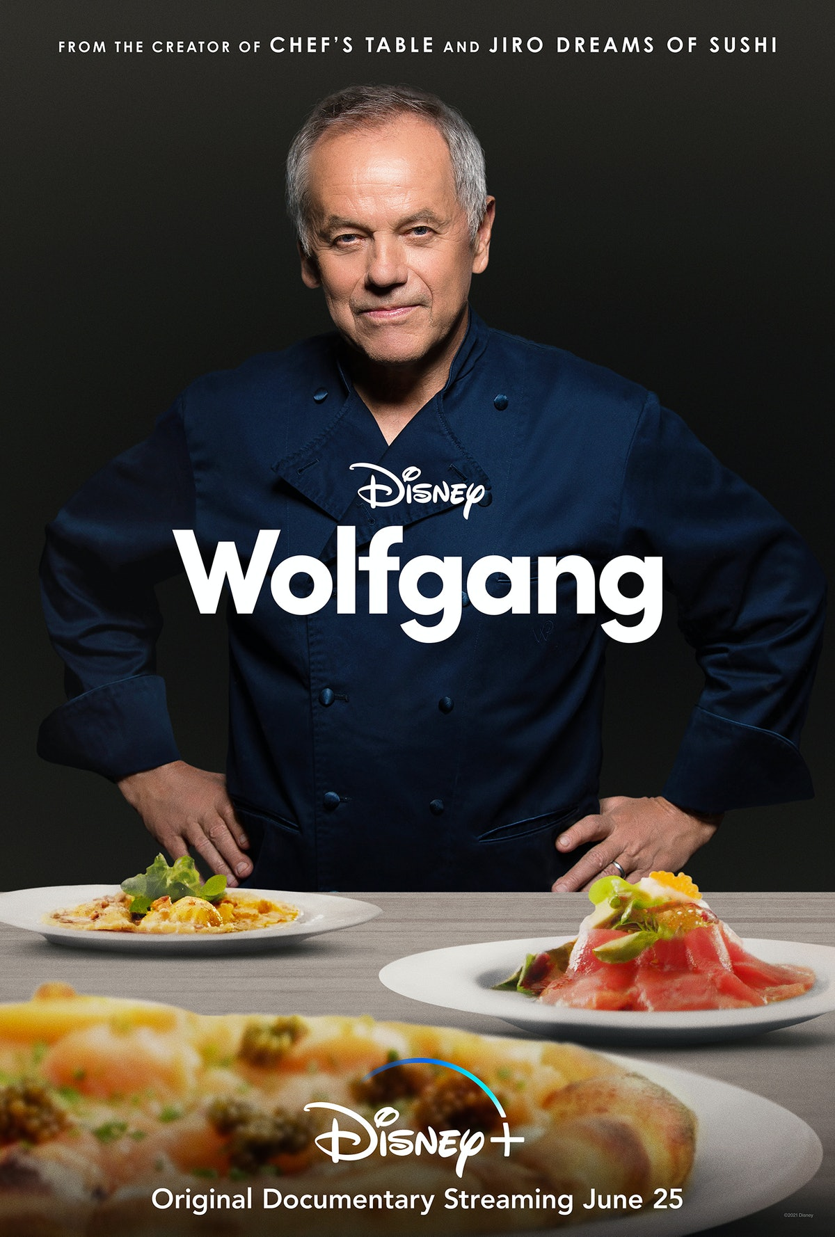 Wolfgang Puck documentary film poster
