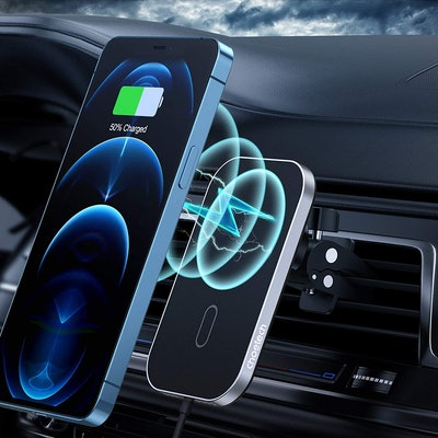 CHOETECH Magnetic Wireless Car Charger