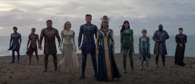 Cast of 'Eternals.' Photo via Marvel Studios / YouTube