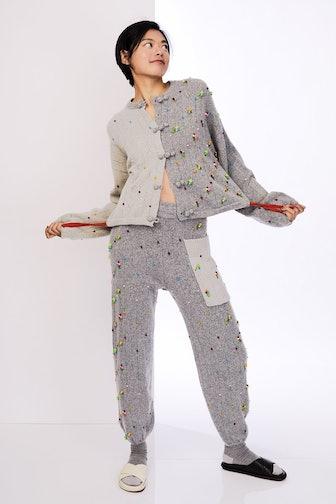 Gray Rosie Kungfu Jacket