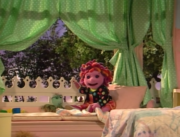 Allegra's Window is a show using puppets from the 1990's.