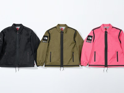 Supreme The North Face Summit Series SS20 Coaches Jacket
