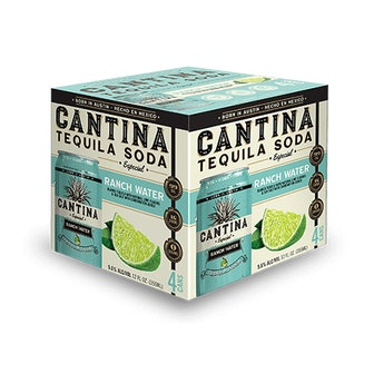 Cantina Especial Ranch Water Tequila Soda (4-Pack)