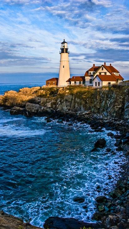 Portland Head Light in Portland, Maine.