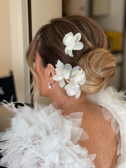 Cait Kiernan bridal hair