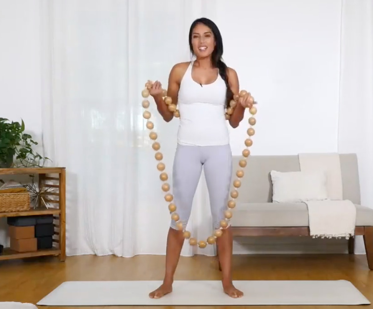 Wooden Weighted Exercise Hoop