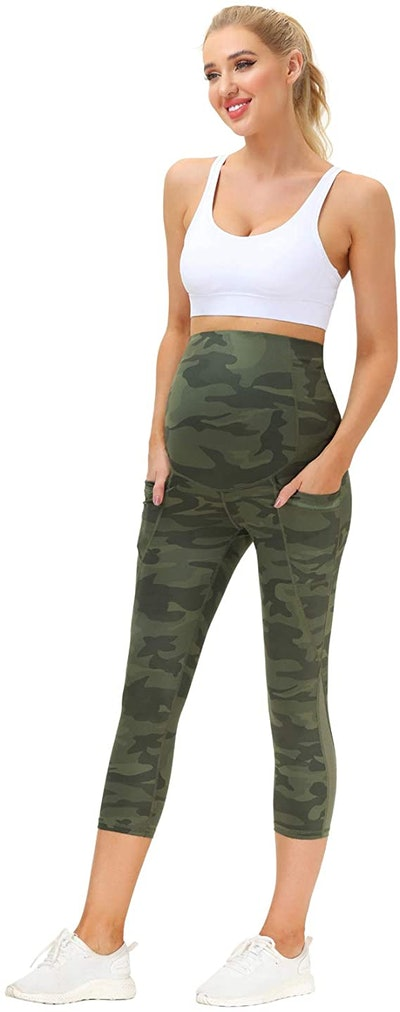 Maacie Maternity Over The Belly Active Pants