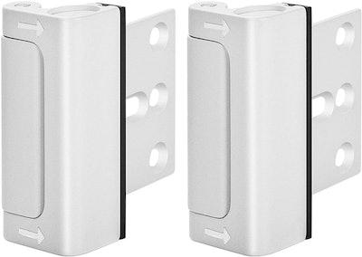 WINONLY Home Security Door Lock (2-Pack)