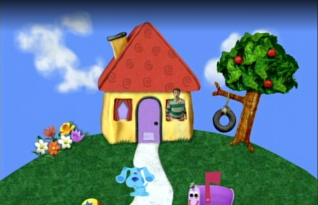 Blue's Clues is an animated series which first aired on Nickelodeon in 1996.