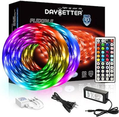 DAYBETTER Color Changing LED Strip Lights