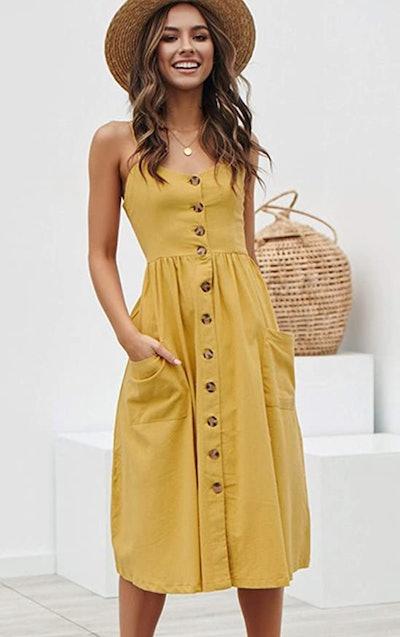 Angashion Swing Dress