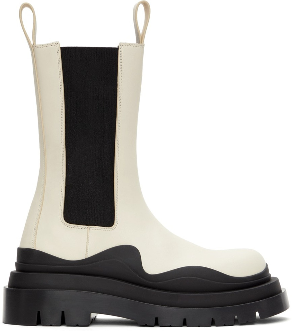 Off-White & Black 'The Tire' Boots