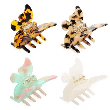 Butterfly Hair Claw  (4-Pack)
