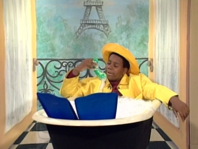 Kenan Thompson stars in the Nickelodeon comedy show, 'All That.'