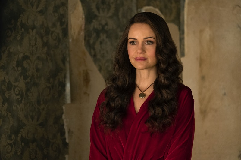 Carla Gugino in The Haunting of Hill House, one of several must-see horror anthology series on Netflix.
