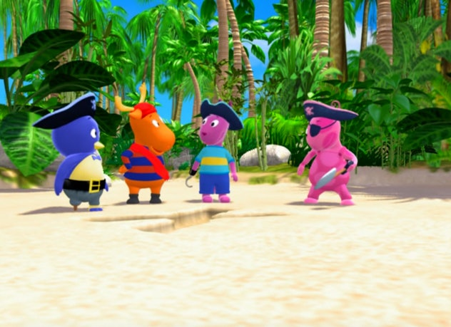 'The Backyardigans' is streaming on Paramount+