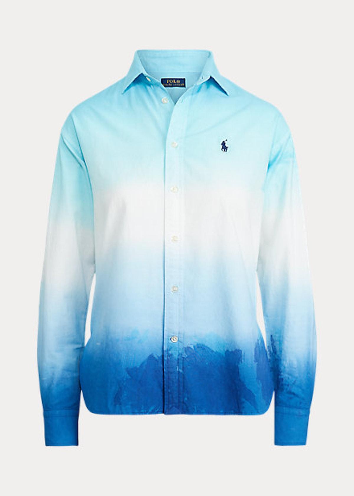 Tie-Dye Oxford Shirt