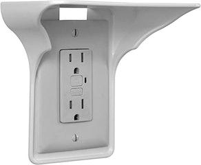BeraTek Single Wall Outlet Shelf
