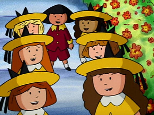 The New Adventures of Madeline is based on the best selling children's books.
