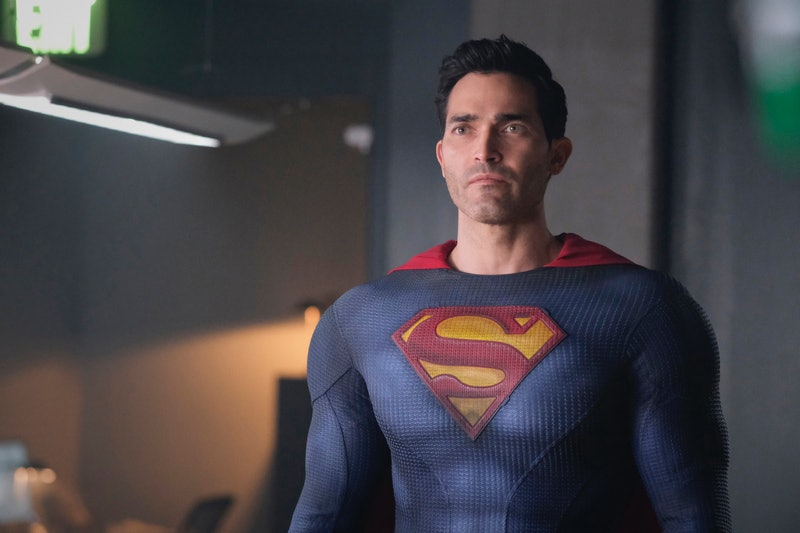 Superman on Superman and Lois via the CW press site