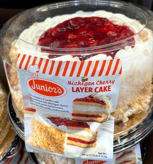 michigan cherry layer cake