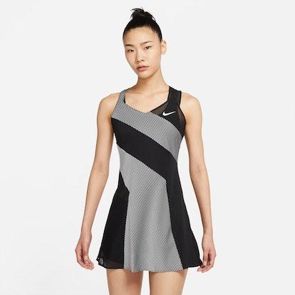 Naomi Osaka's NikeCourt Dress for the 2021 French Open.