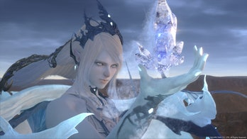 final fantasy 16 ice mage woman