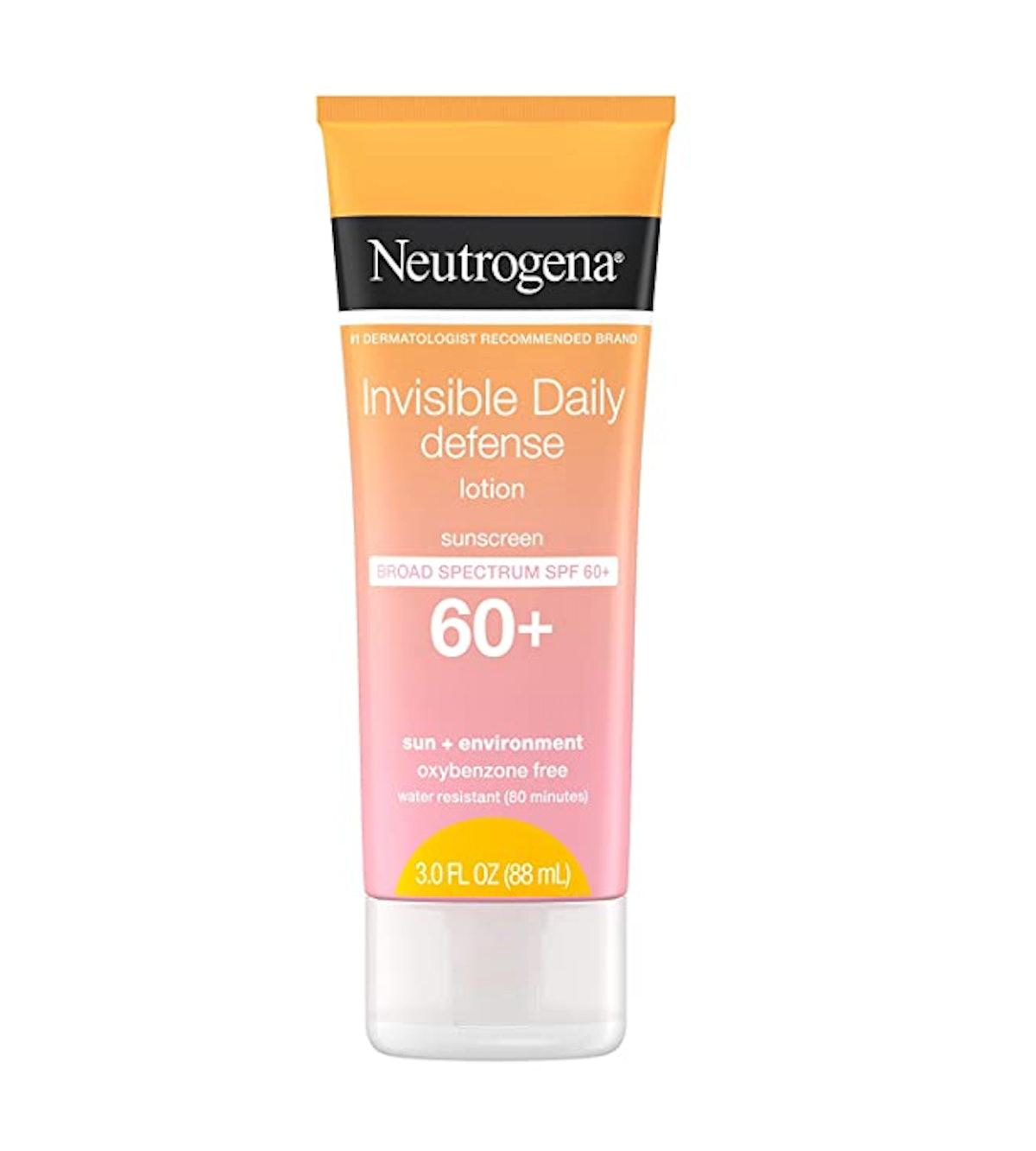 Neutrogena Invisible Daily Defense Sunscreen Lotion