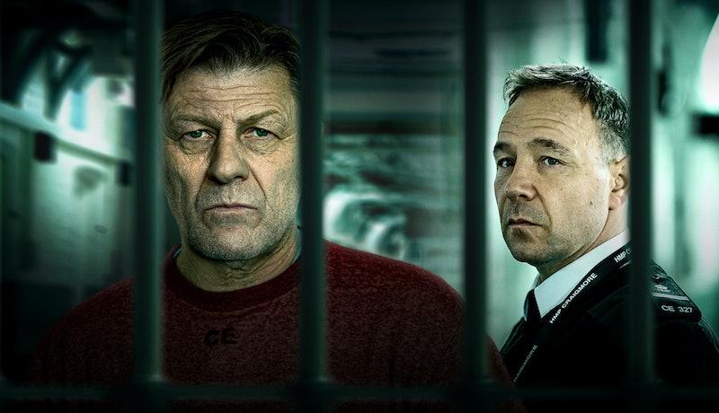 Mark Cobden (SEAN BEAN), Eric McNally (STEPHEN GRAHAM) in BBC's Time