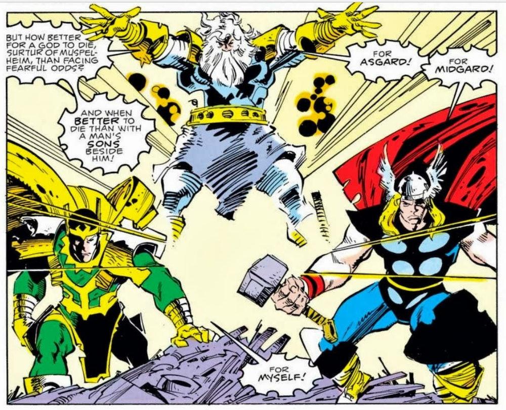 loki The Mighty Thor #353