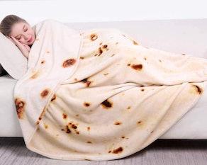 mermaker Burritos Tortilla Blanket