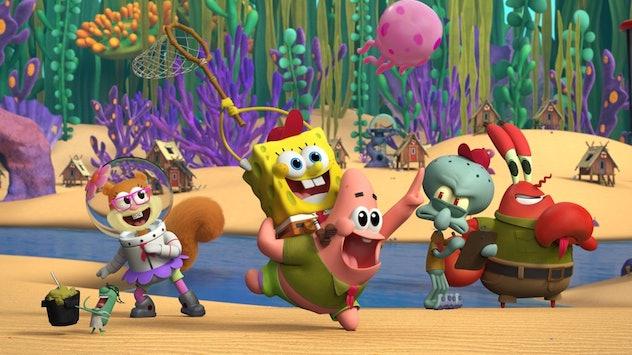 The 'Spongebob Squarepants' prequel series, 'Kamp Koral' is streaming on Paramount+.