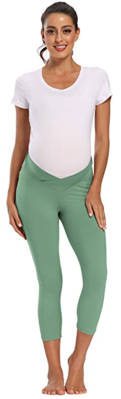 Foucome Maternity Under The Belly Leggings