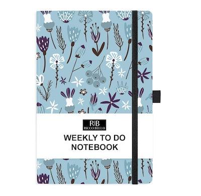 Ricco Bello Hardcover To-Do Notebook