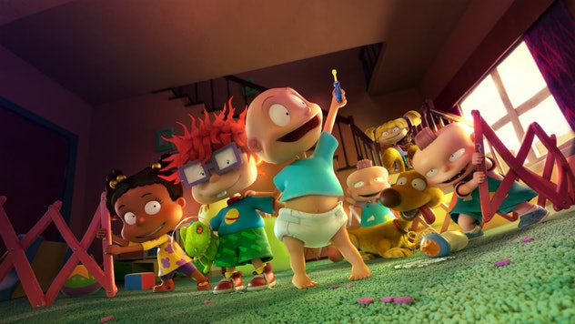 A brand new 'Rugrats' reboot is airing on Paramount+.