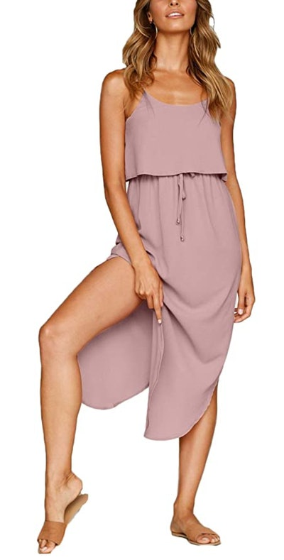 NERLEROLIAN Strappy Midi Dress