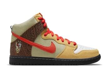 """Nike SB x Color Skates """"Kebab and Destroy"""" Dunk High"""