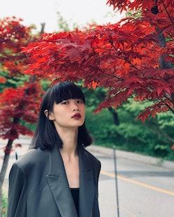 Huan Zhou hair cut