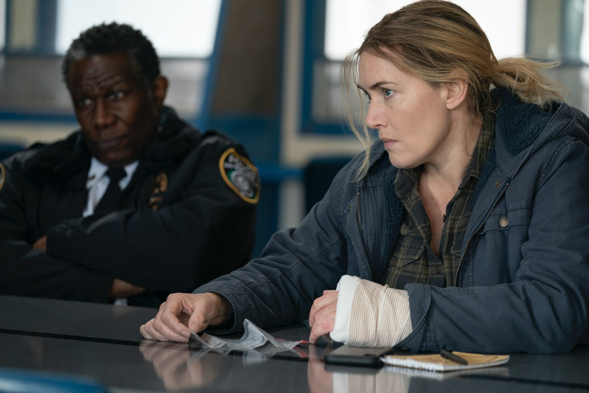 John Douglas Thompson and Kate Winslet in HBO's 'Mare of Easttown'