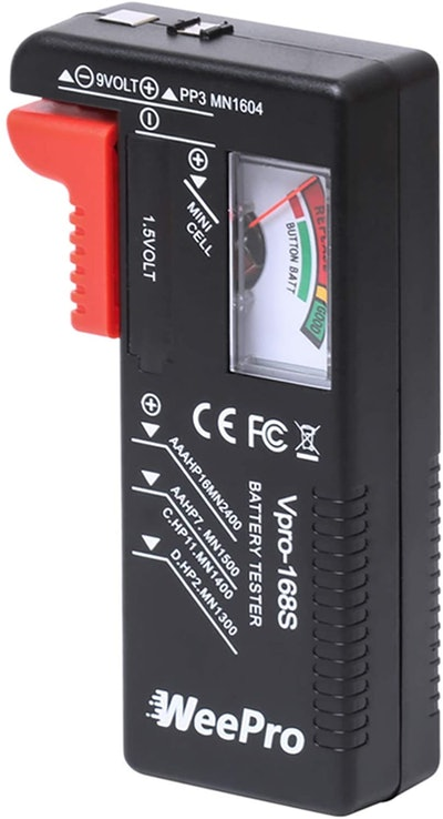 WeePro Battery Tester