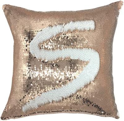 YOUR SMILE Mermaid Throw Pillow Case
