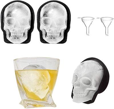WINIT Silicone Skull Ice Mold (2-Piece)